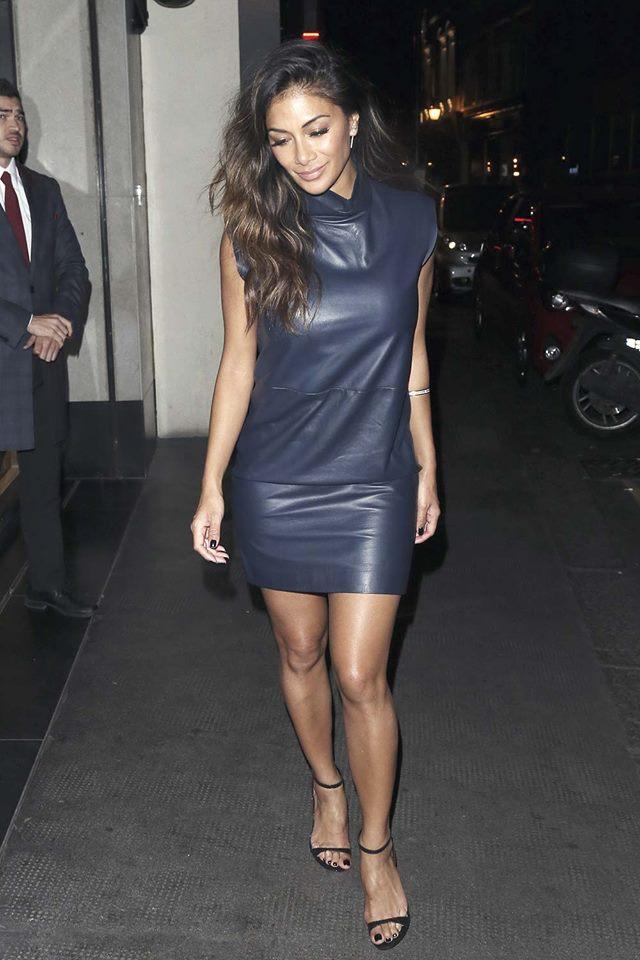 Adoring Denim Blue Sleeveless Leather Dress