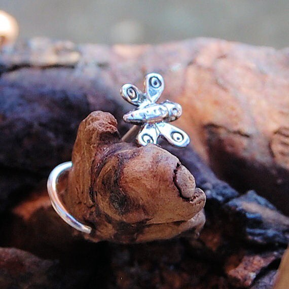 Beautiful Butterfly Nose Studs