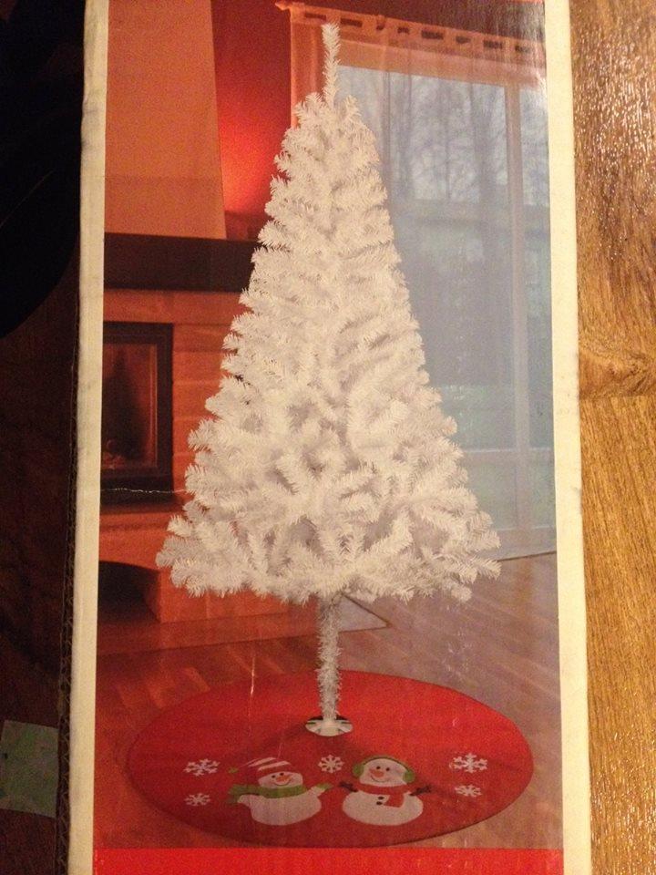 Beautiful White Christmas Tree