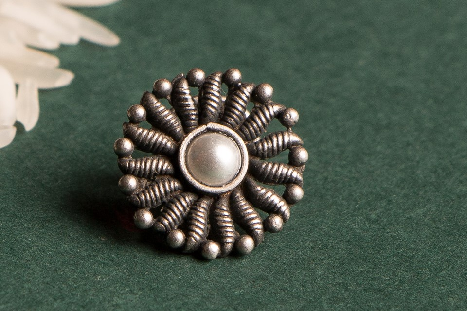 Charismatic Handcrafted Sterling Silver Nosepins