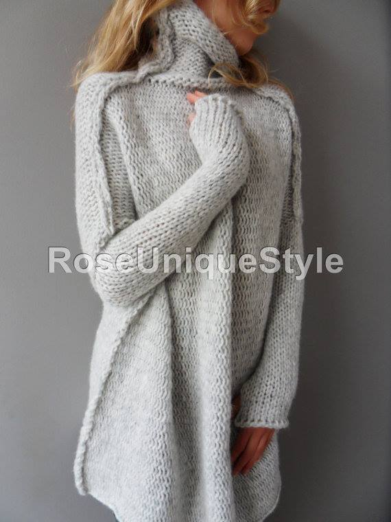Coel Neck Handmade Sweater