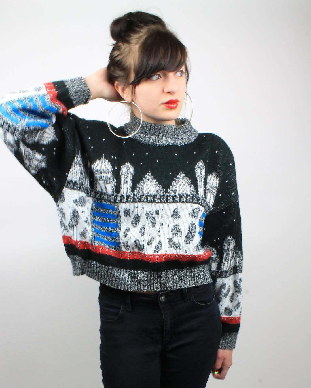 Cool 1980's Short Sweater