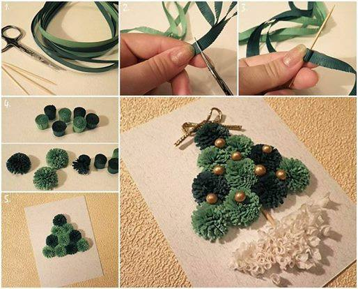 Cool Mini Quilling Christmas Tree