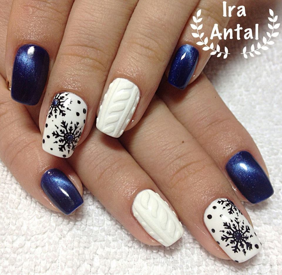 45+ Inspiring Winter Nail Art Ideas That Are Just Wow