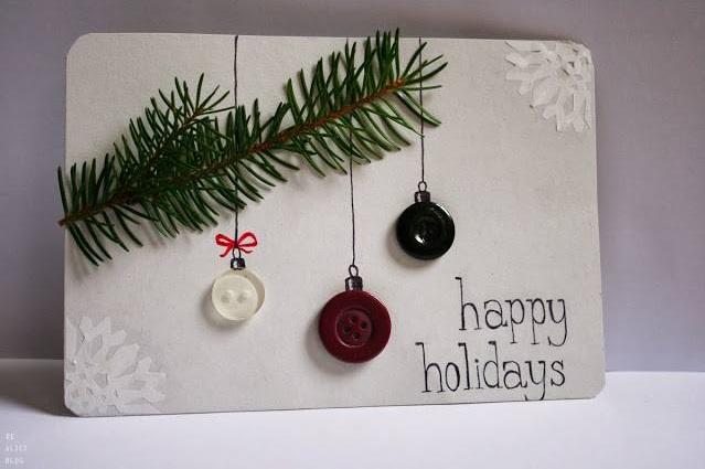 Dashing DIY Christmas Card Design