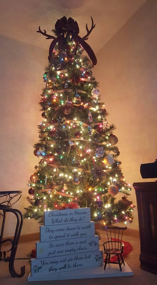 Dashing Wood Decor Christmas Tree Decor