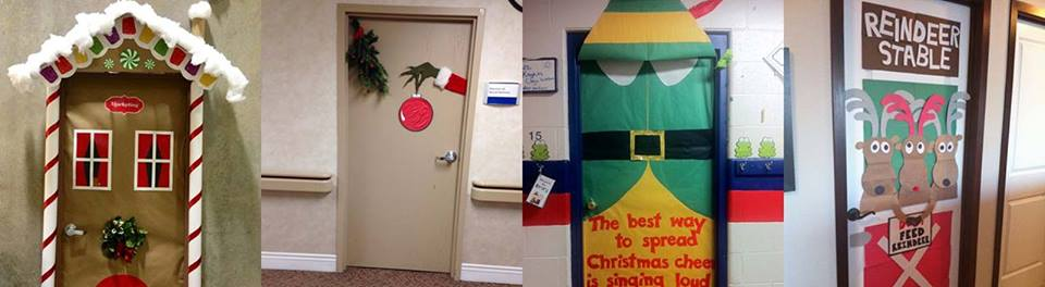 Easy Office Door Decoration