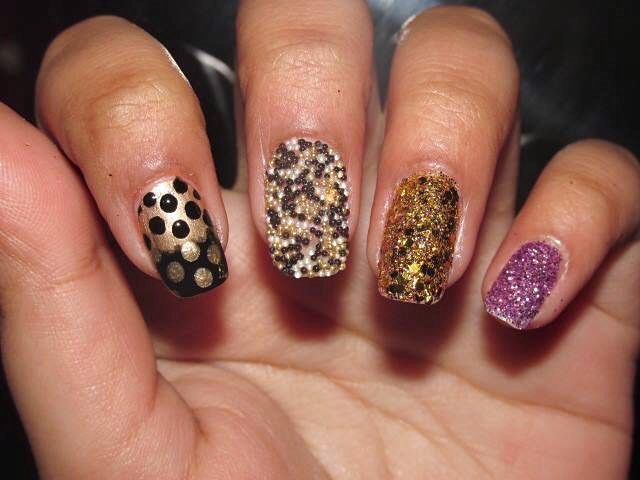 Exclusive New Year Party Nails