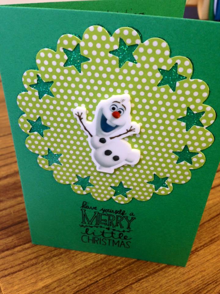 Eye-Catching Handmade Christmas Card