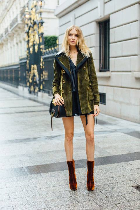 Fabulous Deep Green Coat, Crossbody Bag And Shoes