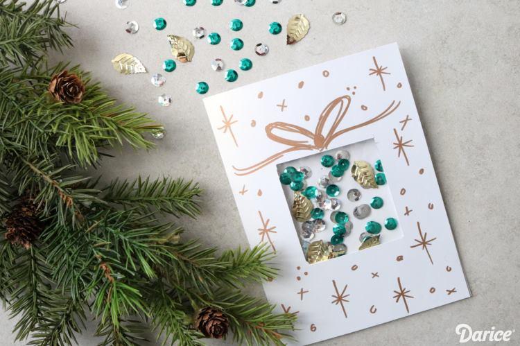 Graceful Christmas Card Design