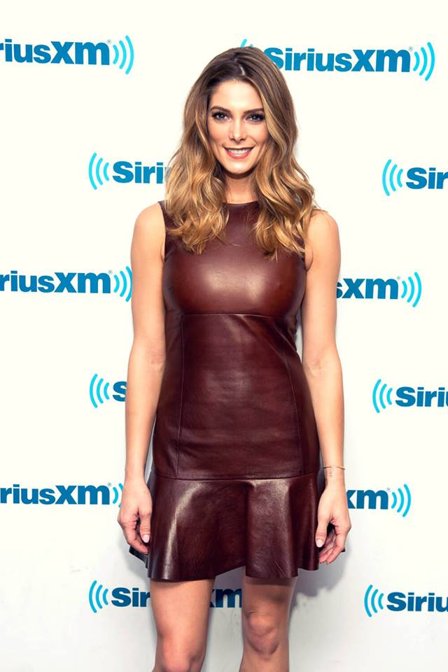 Hickory Color Leather Dress