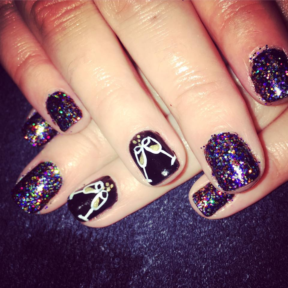 Luxury Party Nails