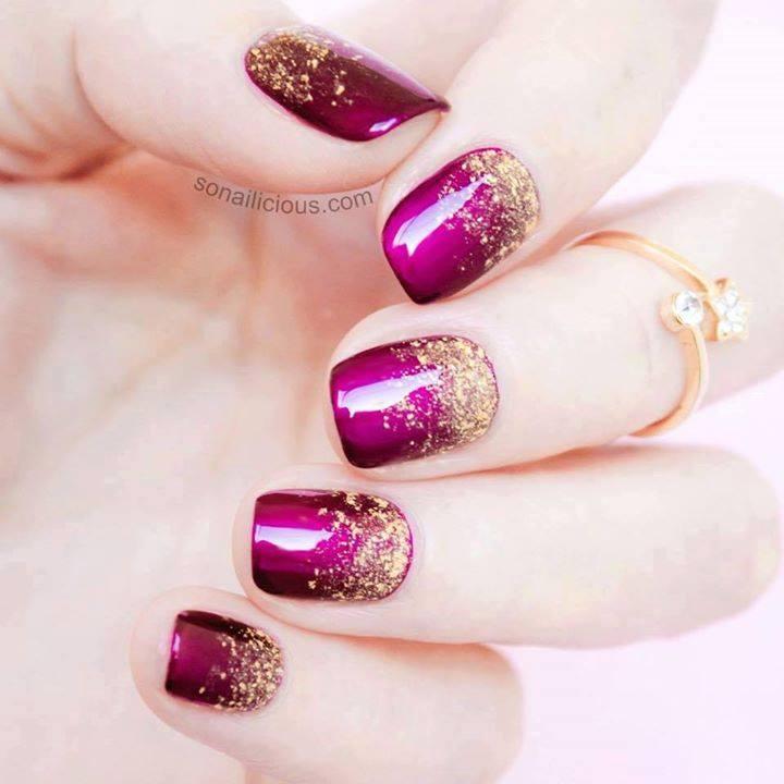Marvelous Magenta Nails