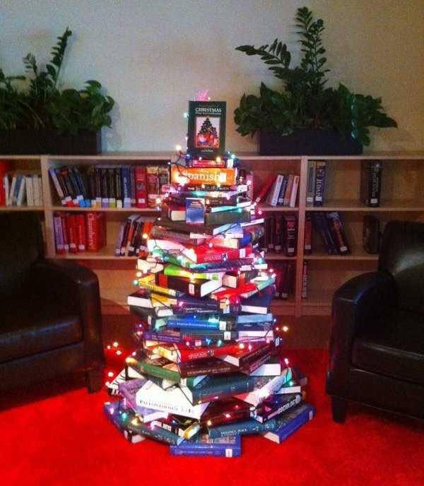 Ravishing Alternative Tree In Office Made By Books