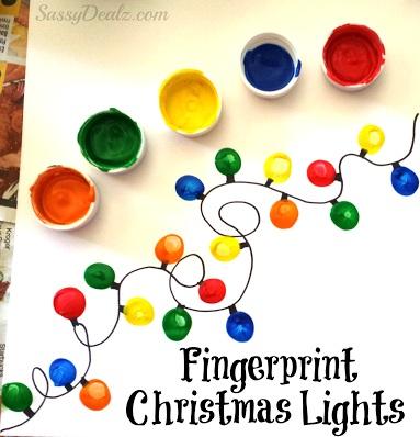 Rocking Christmas Light Craft Idea