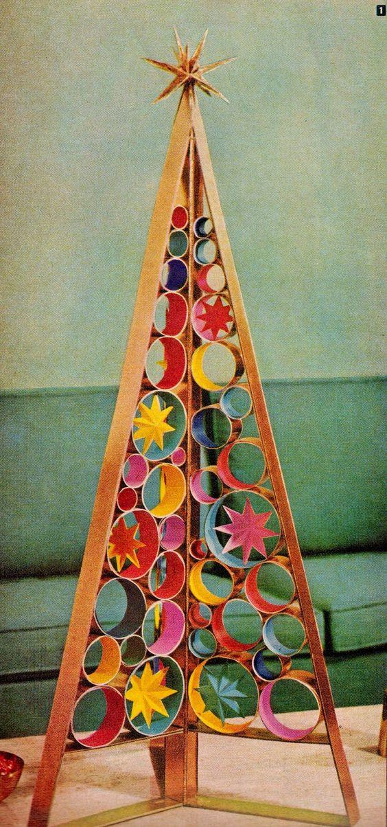 Rocking Retro Style Alternate Christmas Tree