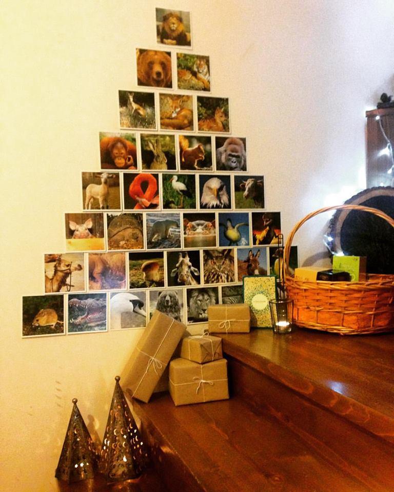 Smart Way To Arrange Photos In Shape Of Tree