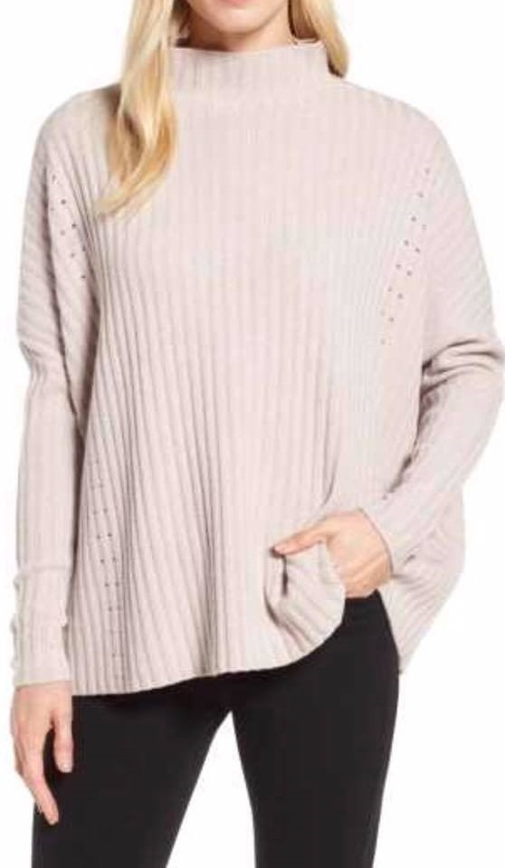Sphosticated Ribbed Cashmere Sweater