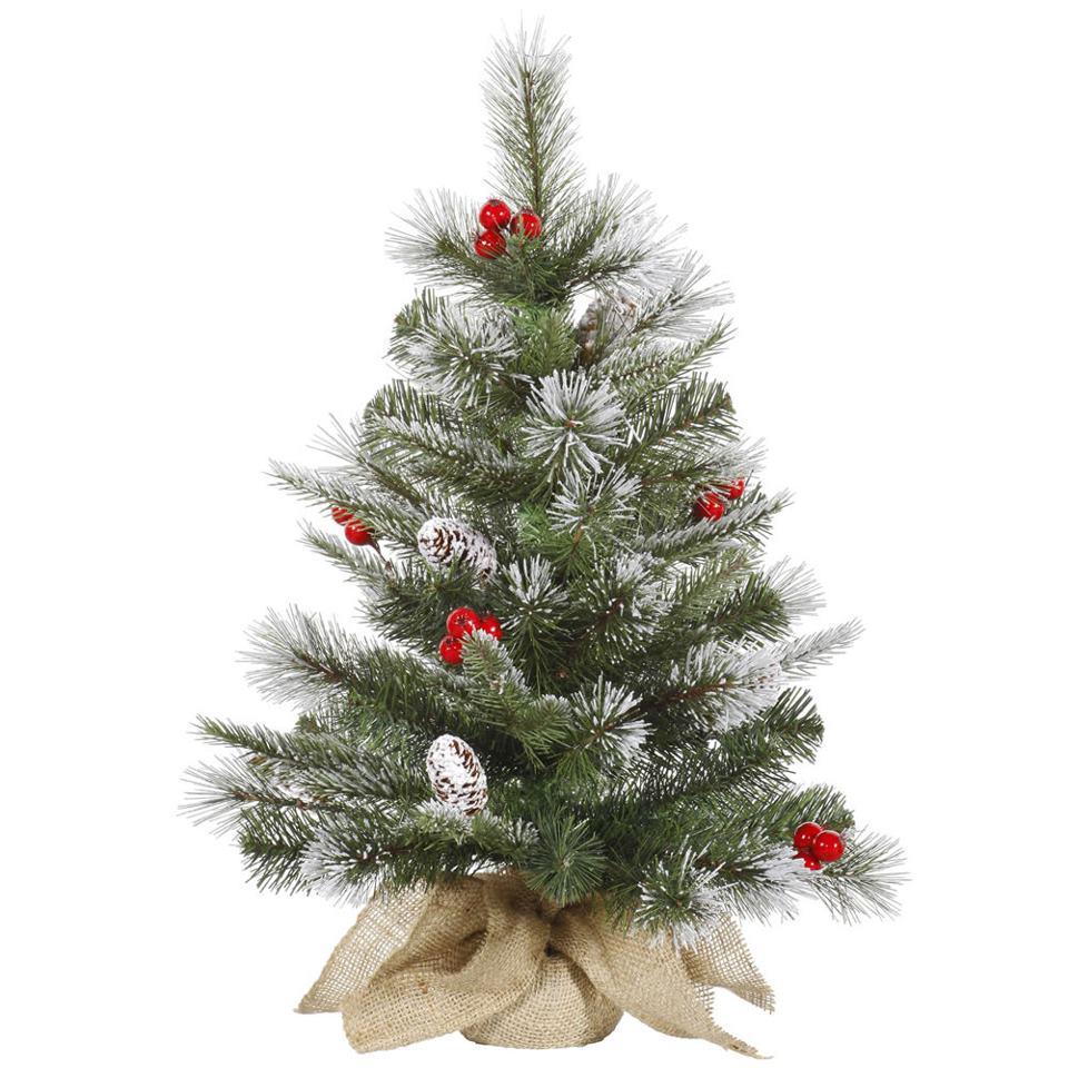 Stunning Flocked Christmas Tree Decor Idea