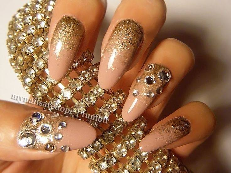 Stunning Nail Art For New Year Party