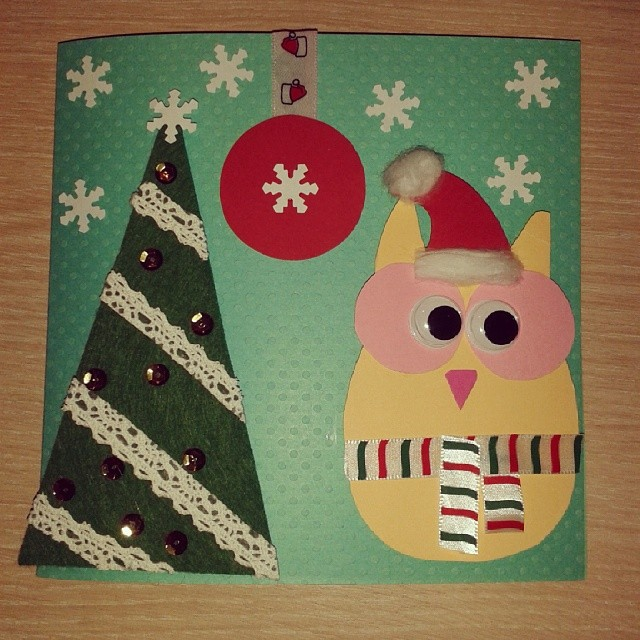 Stylish Christmas Tree With Santa