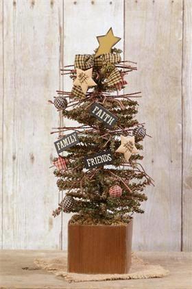 Superb Family Christmas Tree Decor