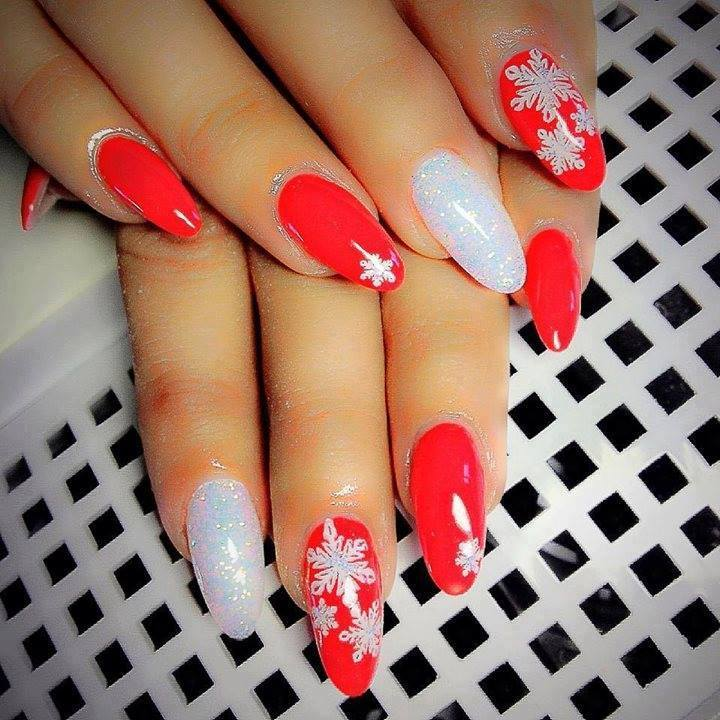 Wonderful New Year Party Nails