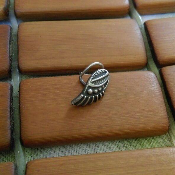 Wonderful Wings Pattern Nose Ring