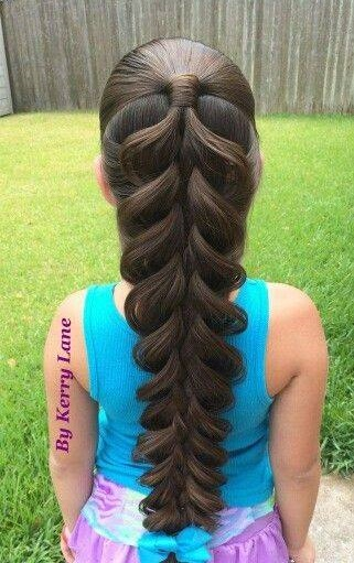 Adorable Waterfall Braid For Long Hairs