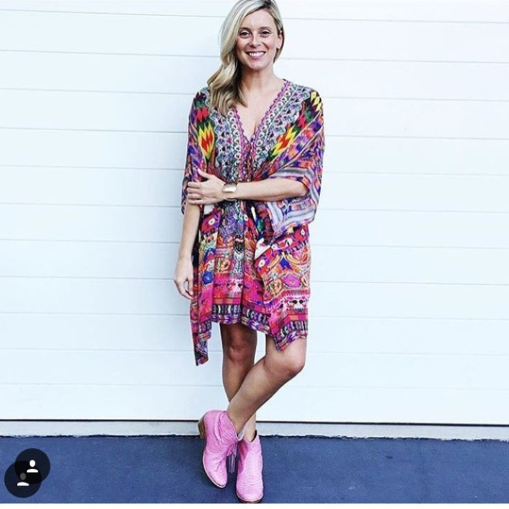 Bright Pink Kaftan Perfect For Summer