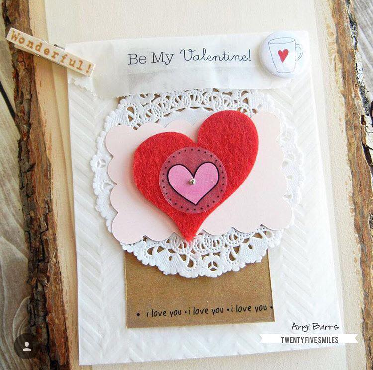 Chic DIY Valentine's Day Card