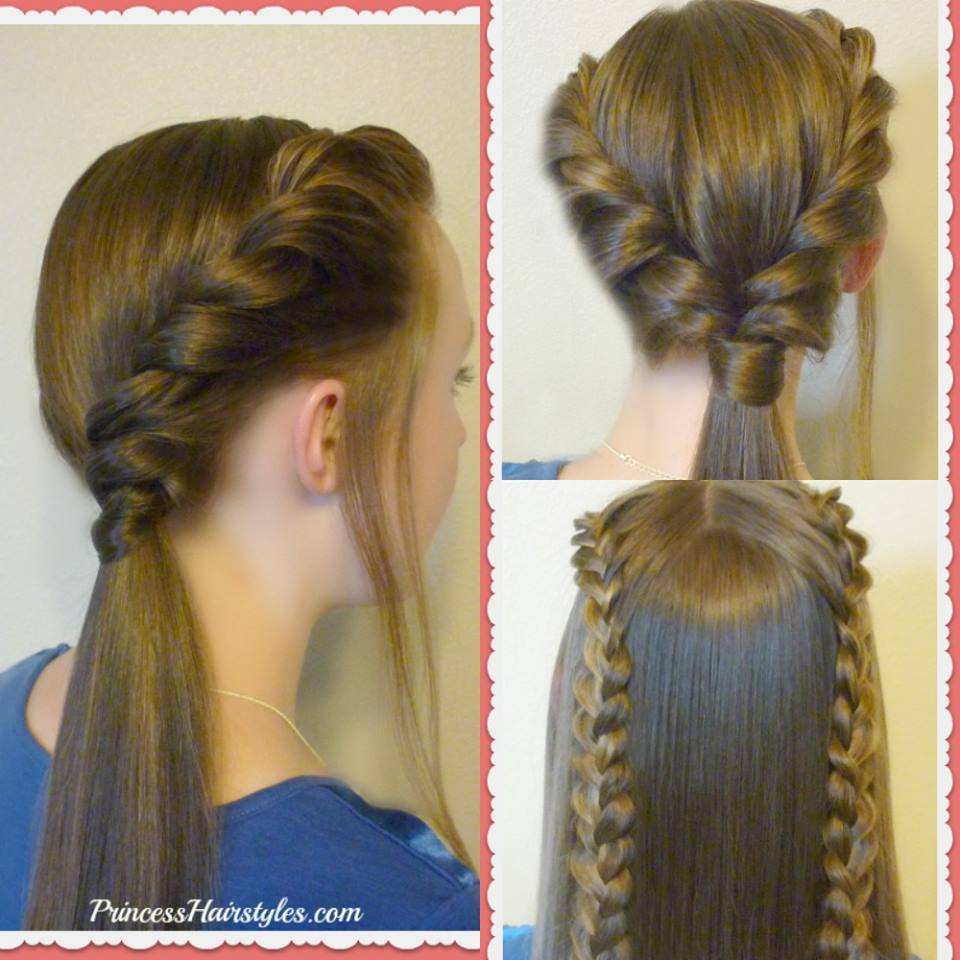 Easy Valentine's Day Hairstyle