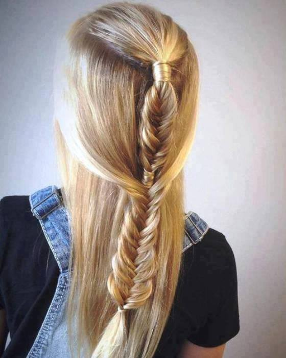 Exclusive Braid Hairstyle For Romantic Day