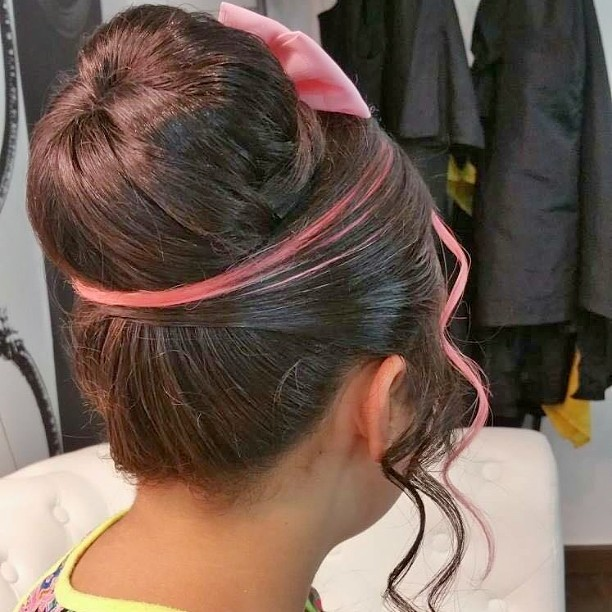 Fabulous High Bun