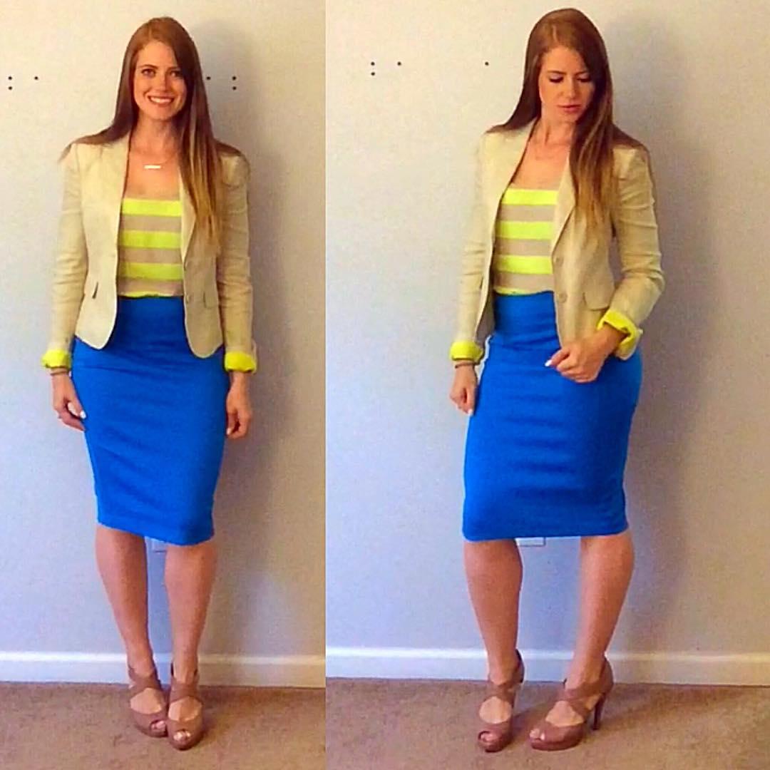 Feminine Office Wear