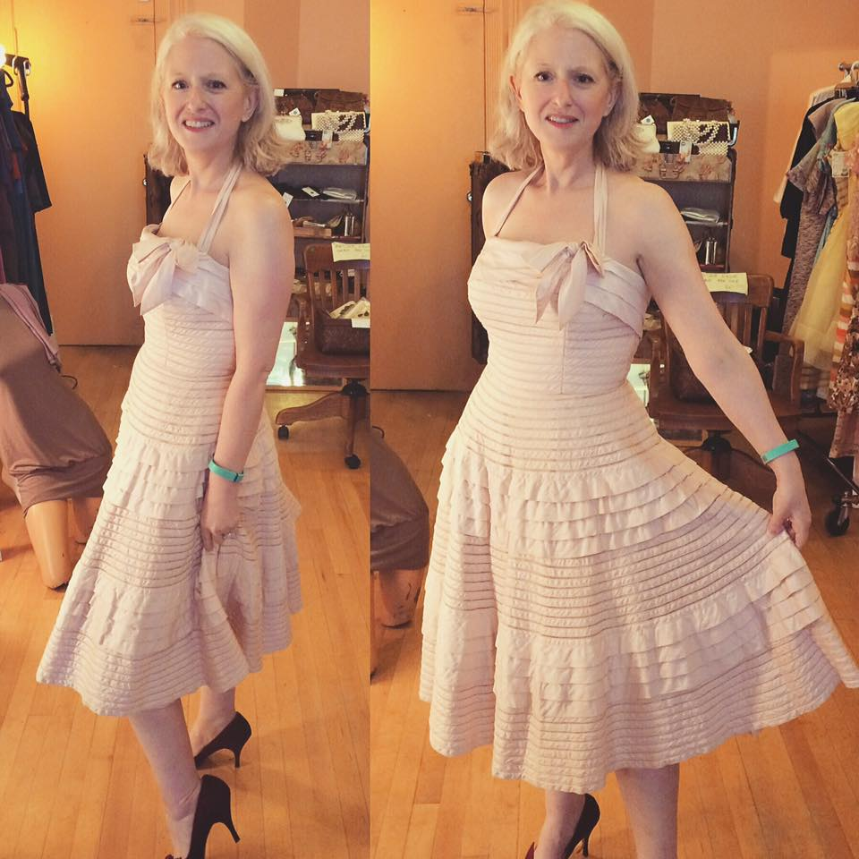 Fluffy Elegant Dress For Mature Women