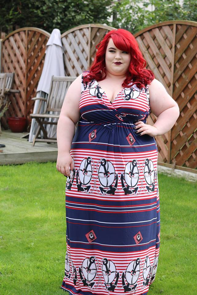 Marvelous Plus Size Maxi Dress