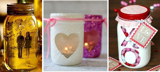 Mason Jar Gift Idea For Valentine's Day