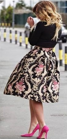 Mind-Blowing Embroidered Two Piece Outfit