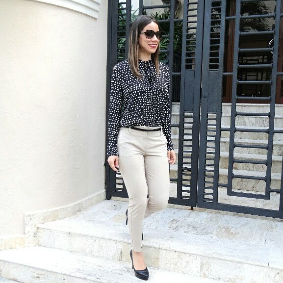 Sassy Dotted Shirt With Pant