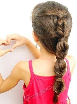 Stunning Braid Hairstyle For Lovely Day