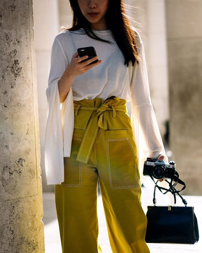 Stylish Work Outfit With Luxury Handbag