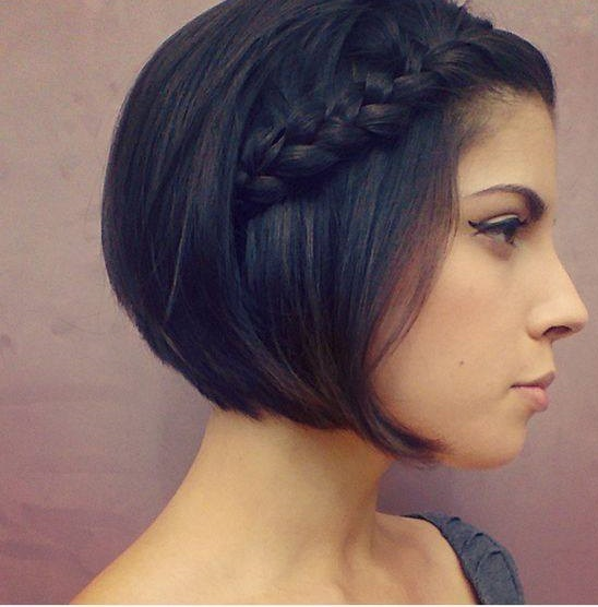 Superb Front Braid For Short Hairs