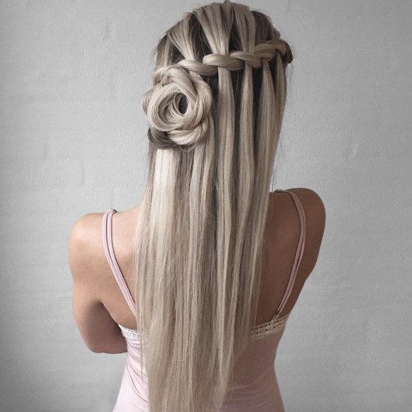Swanky Hairstyle For Long Hairs