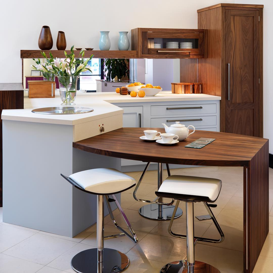 A Bespoke Linear Kitchen Design For Small Space