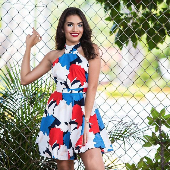 Alluring Colorful Summer Wear