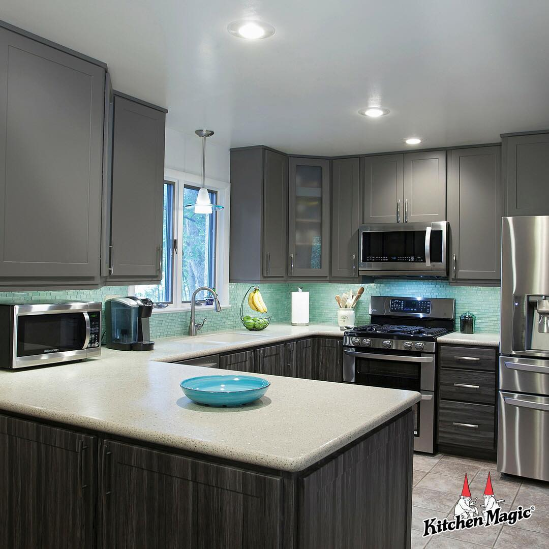Appealing Grey Kitchen For Chic Contemporary Look