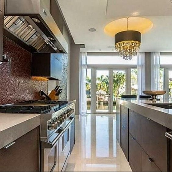 Beautiful Contemporary Cabinetry Creates Clean Lines And Beautiful Interior Design