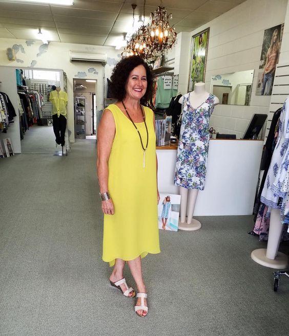 Bright Yellow Summer Dress